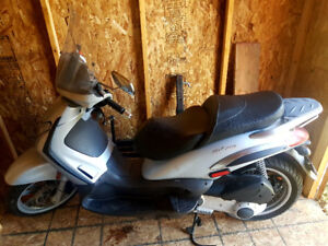Piaggio BV 250 with Gear and Rack $5000