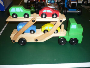 Jouets camions et voitures/Truck and car toys