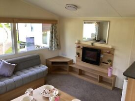 Bargain Double glazed and central heated caravan for sale - reduced in price!!