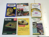 SIX BOOKS ABOUT GECKOS
