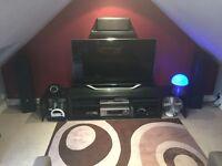 High end Denon Amp & AE 5 speaker surround system
