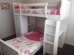Kids Manhatten Bunk / Loft bed with two mattresses Parkinson Brisbane South West Preview
