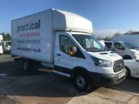 3737f6a3ed FORD TRANSIT 350 L5 Luton Tail lift White Diesel