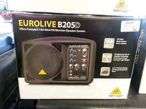 Behringer All in One PA Speaker System Great for Live Speaking or auctions.  We sell used Pro Audio (#41815M)