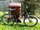 X rated jump bike, one off special,, 26 inch wheels