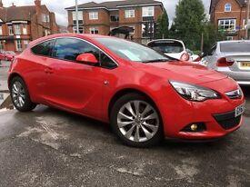 Vauxhall Astra GTC GTC SRI CDTI (red) 2012
