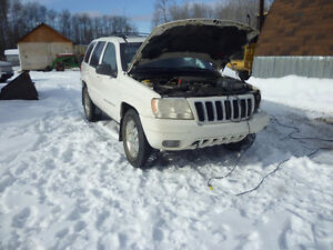 Parting Out 4x4 Jeep Grand Cherokee