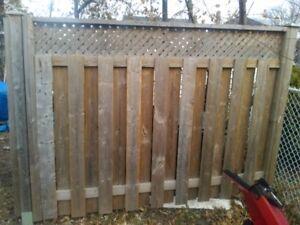 5 fences panel 8X5
