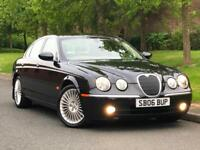 Black 2006 Jaguar S-TYPE 2.7D V6 Auto SE Diesel Saloon - P/X Welcome