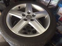 "5x audi 16"" alloys wheels"