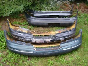 1993 Ford Lincoln Mark8 Front and Rear Bumper Fascia's