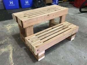 New & used hot tub steps & hot tub cover lifters