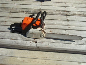 Gas chain saw for sale
