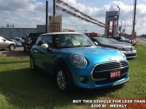 2017 MINI Cooper Hardtop Base  - $195.42 B/W - Low Mileage