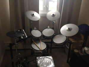 Roland V drum TD-9 kit with lots of upgrades. Very nice
