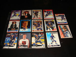 15X BRETT HULL-NHL HOCKEY-COLLECTION-CARTES/CARDS