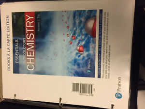 ESSENTAILS INTRODUCTORY CHEMISTRY