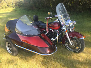 1995 Road King Classic with California Sidecar