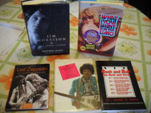 ROCK AND ROLL BOOKS