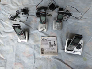V-TECH  TELEPHONES WITH ANSWERING SYSTEM