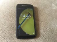 Motorola E 2nd Generation mobile phone, 8GB, Black, unlocked