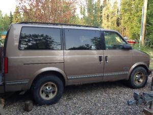 1998 Chevrolet Astro Minivan, Van