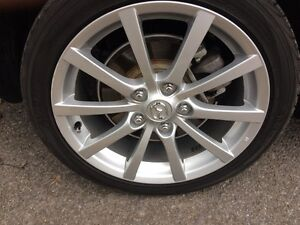 17 Inch Alloys with Summers 2009 Mazda MX5
