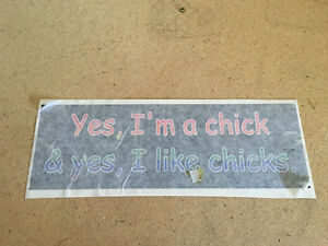 New bumper sticker