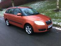 2009 Skoda Fabia 1.6 16v ( 105bhp ) Tiptronic 2 ONE OWNER