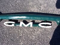 Front of early 60s GMC truck