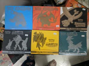 Pokemon elite trainer box cards tcg trading cards NEW