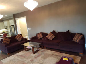 Excellent 3 pc Sofa Set - 5 Seater, 3 Seater and Love Seat.