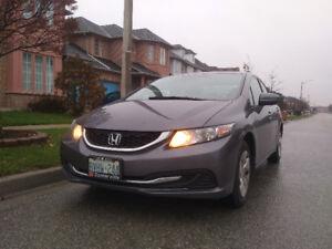 2014 Honda Civic LX Sedan. Clean car. CLEAN CARPROOF