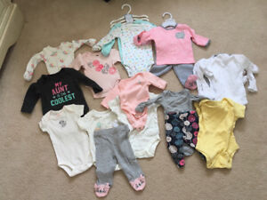 Baby Girl clothes - preemie and newborn