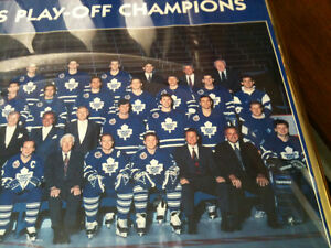 Toronto maple leafs   1993 norris champions framed photo 20 x 16 Kitchener / Waterloo Kitchener Area image 4