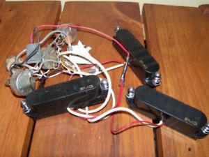 3 pick up EMG pour guitare électrique (Single coil – strat)