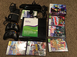 XBOX 360 SYSTEM & GAMES