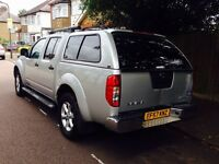 2007 NISSAN NAVARA AVENTURA D/C - Auto - Drives Good - Eco Top - NO VAT TO PAY