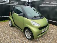 2011 smart fortwo 0.8 CDI Passion Softouch 2dr Auto Coupe Diesel Automatic
