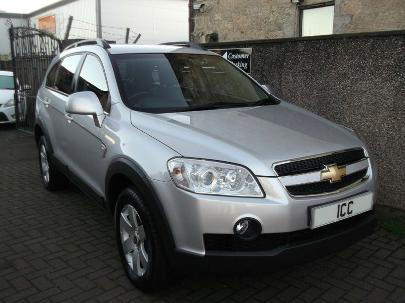 10 60 Chevrolet Captiva 20 Cdti Lt 4x4 7 Seater 5dr Leather Alloys