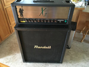 Randall X2 Warhead and Randall RS125CX cabinet