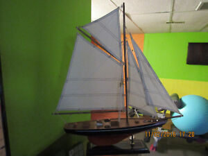 NEW wooden big yacht scale ship model, great detailed West Island Greater Montréal image 3