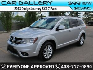 2013 Dodge Journey SXT 7 Pass $99B/W YOU'RE APPROVED-QUICK  EASY