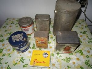 Old Style Tin Cans