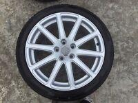 Audi TT Alloys and tyres