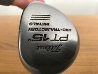 TITLEIST PT 15 DEGREE RIGHT HANDED REGULAR STEEL SHAFT. IN EXCELLENT CONDITION.