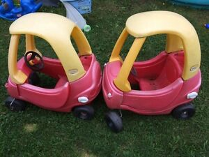 2 Cozy coupe cars