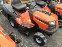 Husqvarna tc38 ride on mower lawnmower