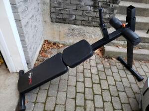 TradeMark Fitness Decline Ab Bench