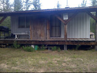 Trapper offering Off-Grid Experience, 2 Bdrm Cabin, Candle Lake